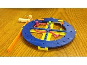 Tactile Trigonometric Circle
