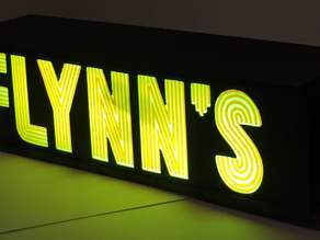 Flynn's Sign from Tron