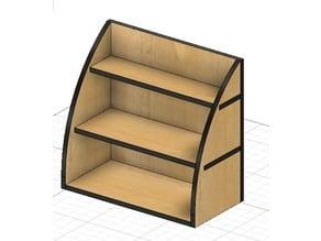 Mini shelf/Mini Prateleira - Laser cut