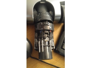 Broken hoover head joint fix for Grundig Cyclonic 21.6V