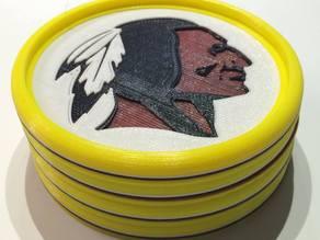 Washington Redskins Coaster