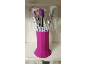 Unicorn makeup brush holder