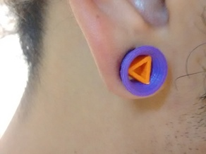 Triangle ear expansor