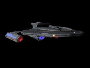 Star Trek - The Next Generation Luna Class Science Vessel