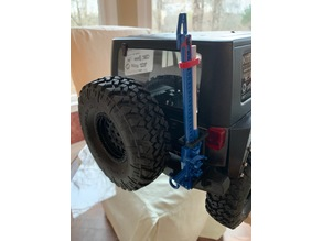 1/10 Scale Jeep Wrangler Hi-Lift Jack Mount