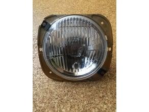Simson Schwalbe Klemmfedern Halogenscheinwerfer/spring clip halogen headlight