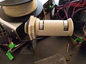 Filament holder with bearings for Tevo Little Monster