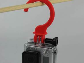 Hanger attachement for GoPro