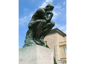 The Thinker at the Musée Rodin, France