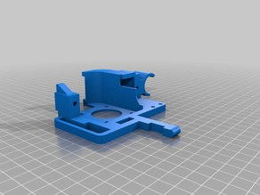 Titan Aero Extruder mount on Makerbot Replicator