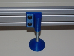 40 mm T-Slot Adjustable Foot
