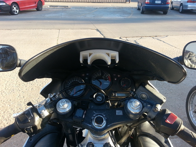 Motorcycle Speaker Mount By Rocketburn11 Thingiverse
