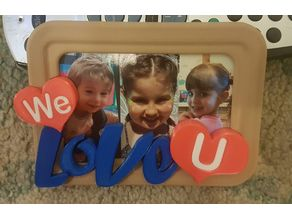 Modern Love Picture Frame (Remixed)