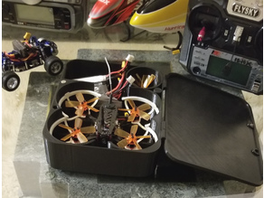 GoolRC G90 Pro case and parts