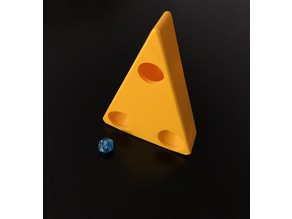 Cheese Dice Tower