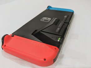 Nintendo Switch Kickstand / MicroSD cover (Improved)