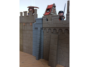 Playmobil Castle Wall Adapter