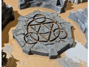 Fantasy Wargame Terrain - Teleport/Summoning Circles