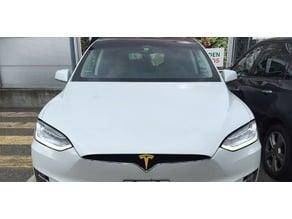 Tesla Model X Front Emblem