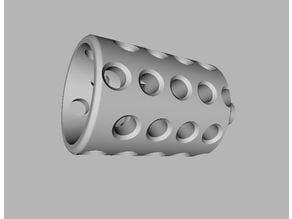 Fire / Gun Flash Damper / Muzzle Brake for Grimmindustries Colonial Blaster