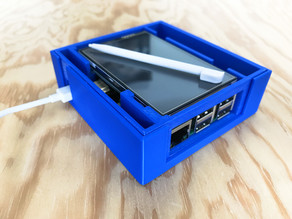 Transportation Case for Raspberry Pi 3 with Touchscreen