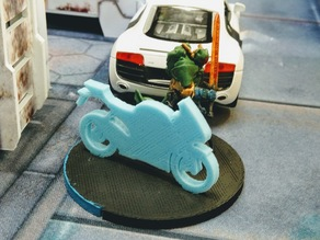 Motorcycle Marker for Infinity Miniatures