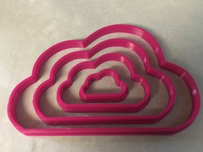 Cloud Cookie Cutters - Various Sizes