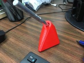 The Schnöz (razor pen desk holder)