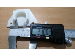Axle holder 22mm
