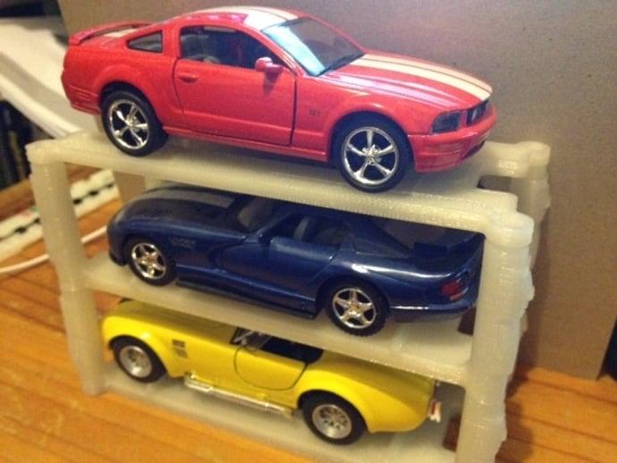 stackable model car rack 136 scale by zen13 jul 14 2013