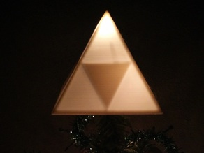 Triforce Christmas Tree Topper