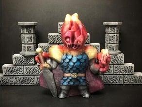 Flaymon, the Fire Knight