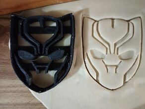 Black Panther Cookie cutter