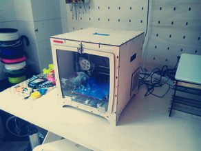 HIRIKIBOX - RepRap Prusa I3 printer lasercut box
