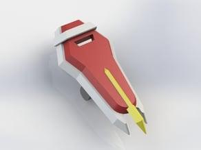 Strike Gundum Shield for LEGO Minifig