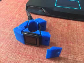 Pebble Time handelbar mount V2