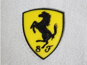 Ferrari Logo (2 Parts)