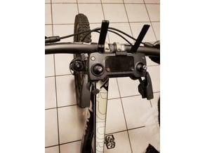 DJI Mavic controller bike mount