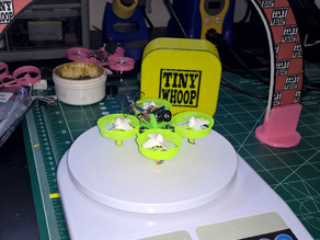 Camera/VTX mount for Tiny Whoop w/ Mullet-mod