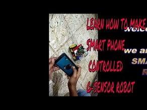 g_sensor smartphone controlled robot