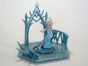 Disney Infinity Character Base - Elsa