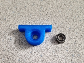 FlashForge Creator pillow block - for MF105ZZ flanged bearing