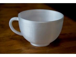 big round mug / tea cup