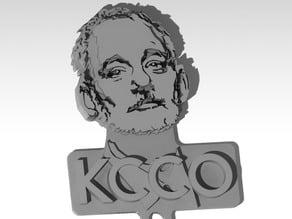 Bill Murray - BFM - KCCO - theChive - Keychain