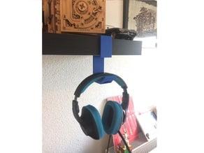 suspended support for headphone / support suspendu pour casque