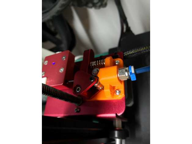 Creality Cr-10s Pro Flexible Filament Extruder Upgrade by rjplumb