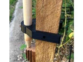 garden stake 35mm mount