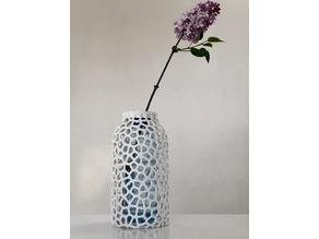 Voronoi PET Bottle Vase