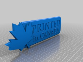 Printed in Canada