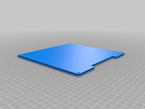 Aluminum Heated Build Plate for 3D Printer